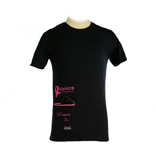 T-Shirt- Fondation cancer su sein-unisexe